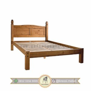 Harga Jual Ranjang Tidur Vintage Kokoh Berkualitas-Kayu-Jati
